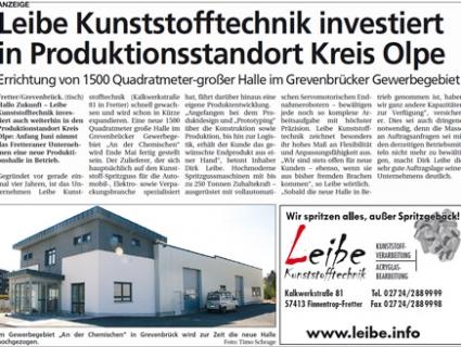 Leibe investiert - April 2007